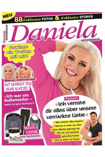 """Personality-Magazine: Das Magazin Daniela erscheint seit dieser Woche in einer Auflage von 200 000 Stück, ein Heft kostet 2,99 Euro. Der Verlag nennt das Heft die """"erste geprintete Doku-Soap Deutschlands""""."""