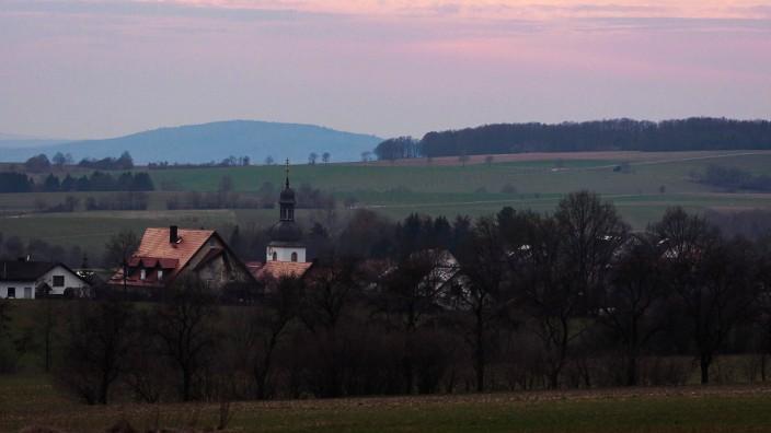 Sonnenuntergang in Oberfranken