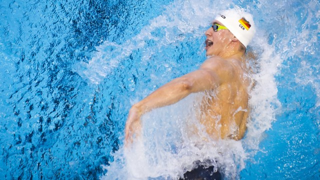 WOLF Philipp GER Men s 50m freestyle heats Netanya Israel Wingate Institute LEN European Short Cou; Schwimmen