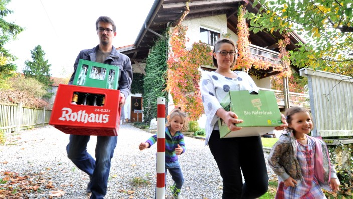 Hochstadt Familie Winkler/Einfahrt