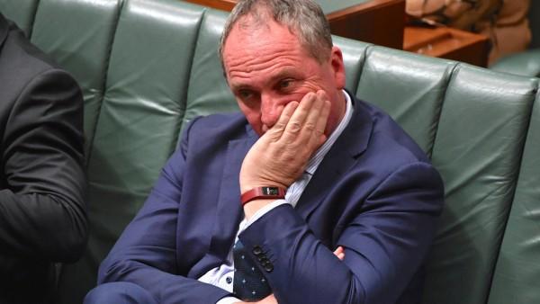 Barnaby Joyce im australischen Parlament