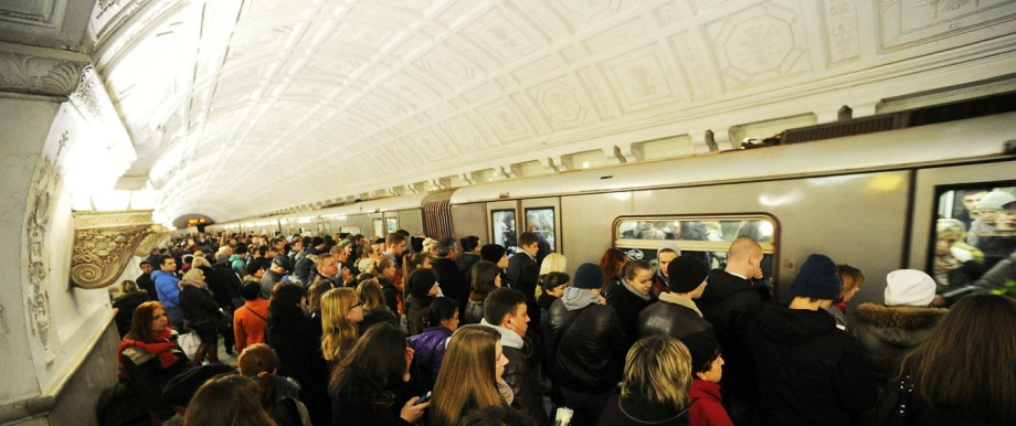 Moscow Subway stations located at the Green Line were closed on November 8th due to railway repair w