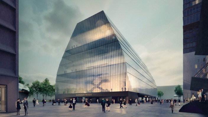 Konzerthaus München Neubau Siegerentwurf