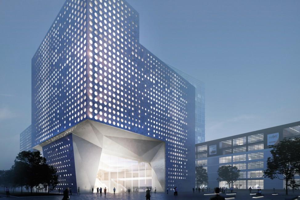 Konzerthaus Werksviertel München Architektenwettbewerb Zweiter Preis PFP Planungs GmbH aus Hamburg