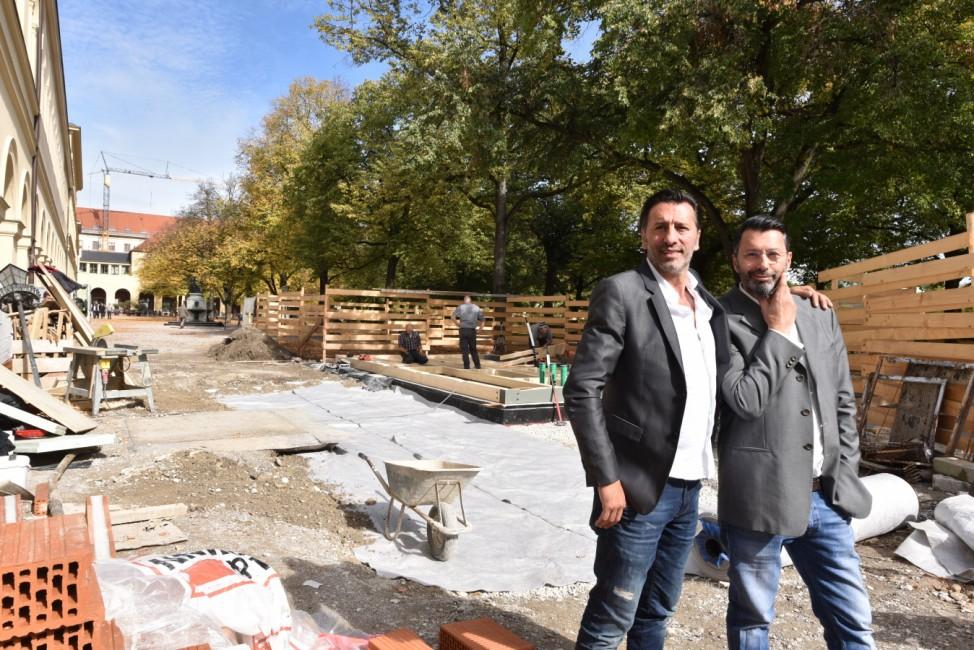 Pino und Ugo Crocamo übernehmen Cafe Tambosi in München, 2017