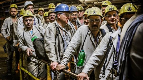 Steinkohle Bergarbeiter Prosper-Haniel Bottrop
