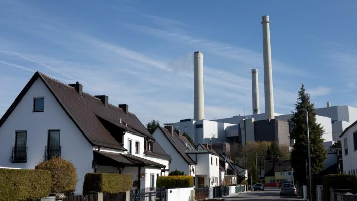 Heizkraftwerk München Nord in Unterföhring, 2017