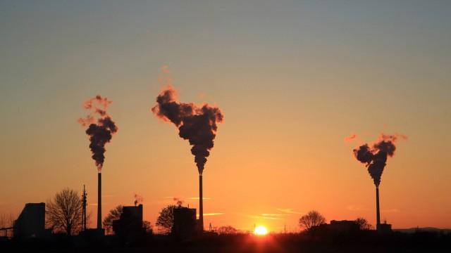 CO2-Ausstoß in Deutschland: Kohlekraftwerk in Mannheim