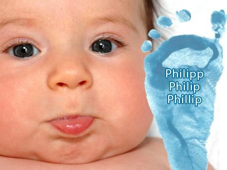 Jungennamen, Philipp