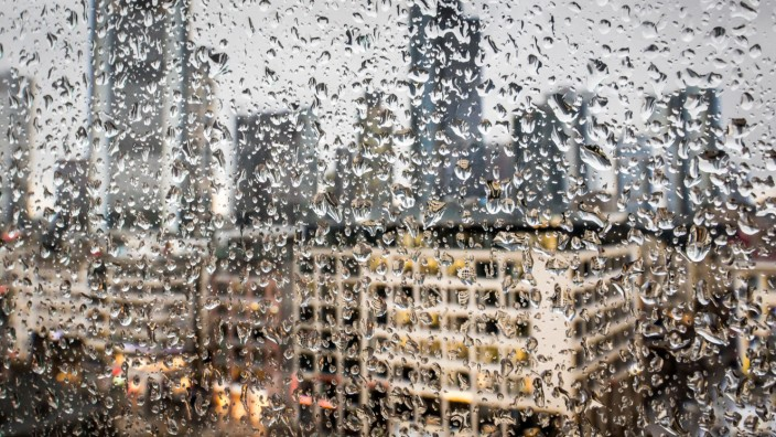 Regenwetter in Frankfurt/Main