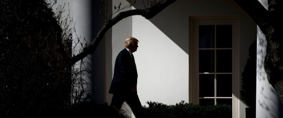 US President Donald Trump returns to the White House after CPAC