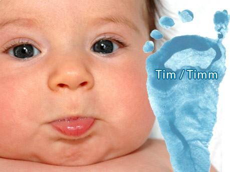 Jungennamen, Tim