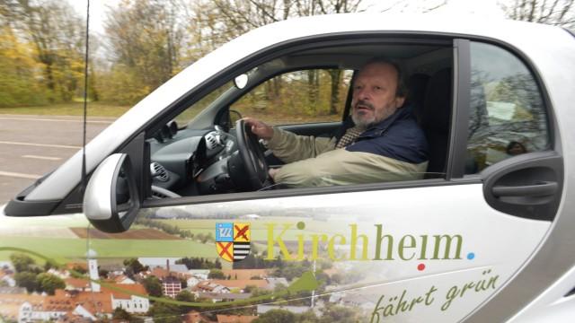 E-Mobilität: Herbert Mücke ist begeistert.
