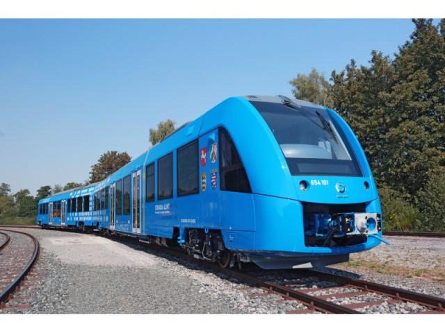 Elektromobilität Alstom Coradia iLint Wasserstoff Brennstoffzelle