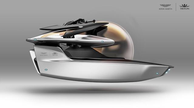 Elektromobilität Elektro-U-Boot Aston Martin Neptune