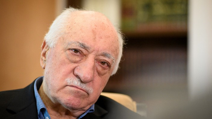 FILE PHOTO: U.S.-based cleric Fethullah Gulen at his home in Saylorsburg