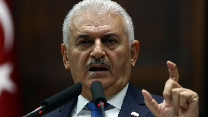 Paradise Papers: Wohl doch nicht so gelassen: der türkische Ministerpräsident Binali Yıldırım.