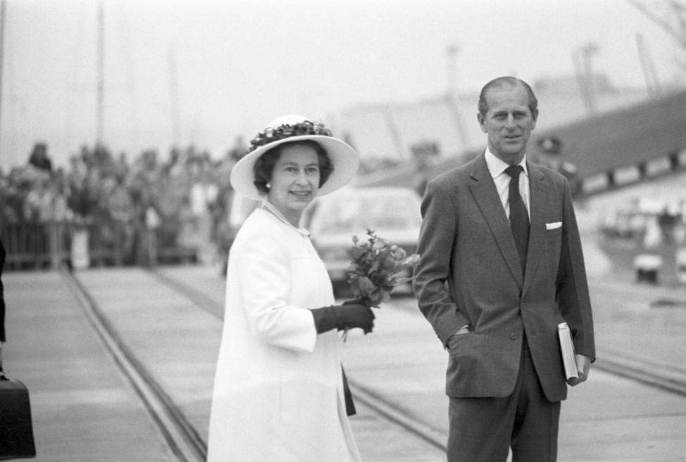 Königin Elizabeth II. und Prinz Philip 1978 in Deutschland