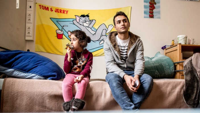 dpa-Story: Flüchtlingskinder