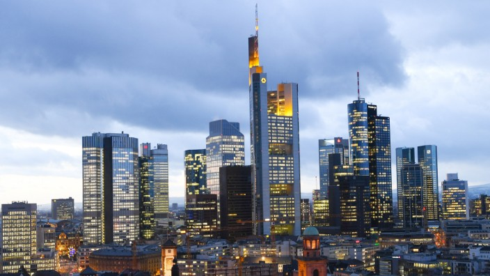 Bankenviertel in Frankfurt/Main