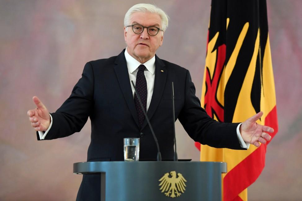 Nach dem Ende der Sondierungsgespräche - Bundespräsident