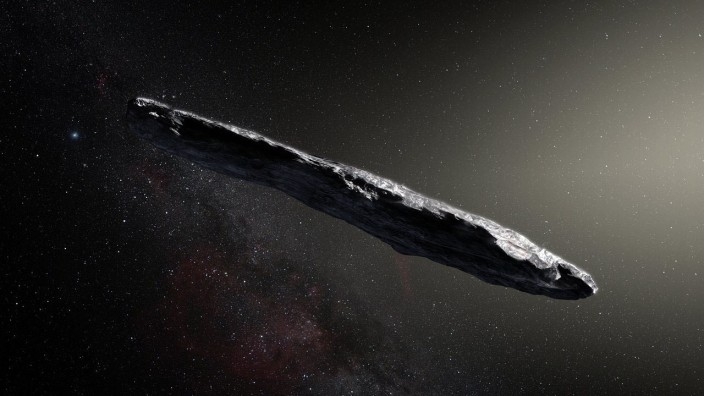 Asteroid aus anderem Sonnensystem