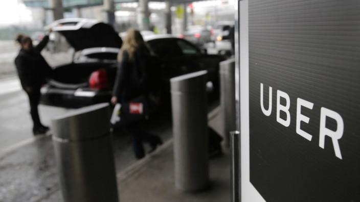 Uber verschwieg Diebstahl der Daten