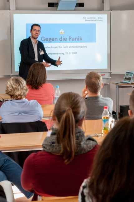 Bildung: Ein Plädoyer gegen die Panik: SZ-Redakteur Dirk von Gehlen sieht in der Digitalisierung eine große Chance.