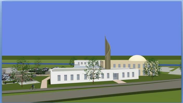 Moschee in Kaufbeuren - Computersimulation
