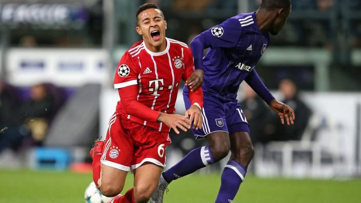 22 11 2017 Fussball UEFA Champions League 2017 2018 Gruppenphase 5 Spieltag RSC Anderlecht FC; Thiago
