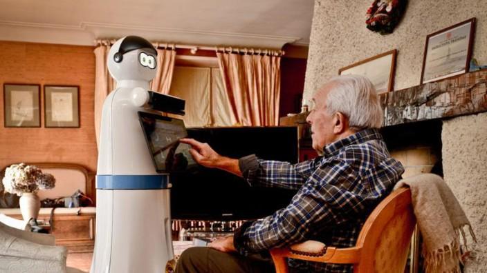 Gesundheit: Roboter Mario soll Demenzkranken assistieren.
