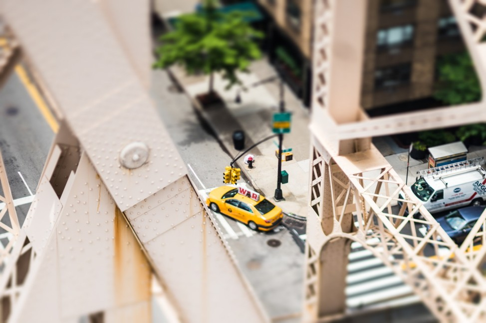 """New York Resized"" von Jasper Léonard"