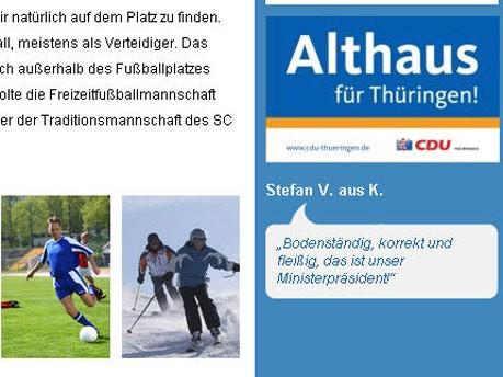 Dieter Althaus: Der tragische Unfall des begeisterten Sportlers