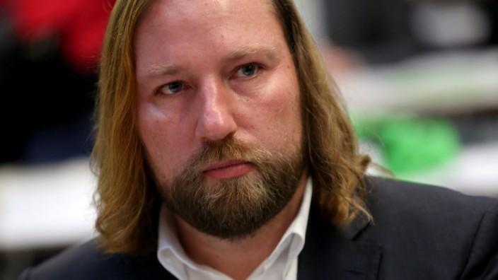 Anton Hofreiter, Fraktionsvorsitzender von Bündnis90/Die Grünen, im November 2017 in Berlin.