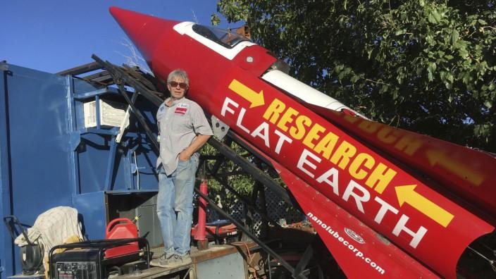 US-Tüftler Mike Hughes plant Raketenflug