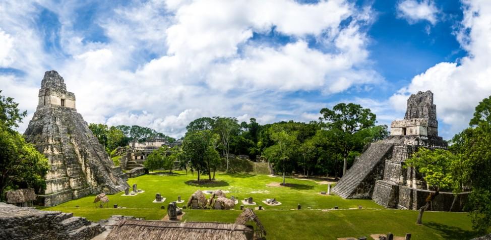 Tempel-Ruinen in Tikal, Guatemala