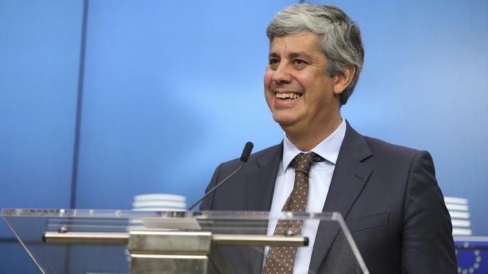 Neuer Chef der Eurogruppe: Der neue Eurogruppen-Präsident: Mário Centeno, der portugiesische Finanzminister