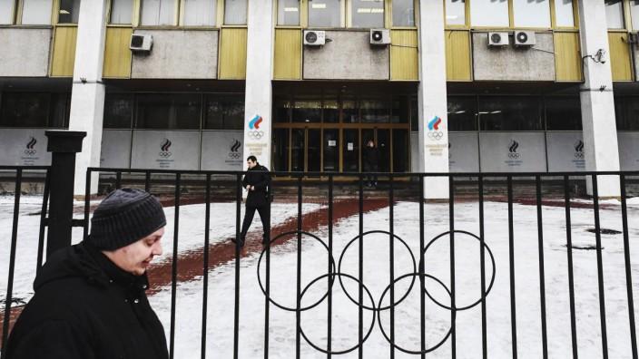 Olympia: Russland entgeht einem Komplett-Ausschluss von den Olympischen Winterspielen 2018.