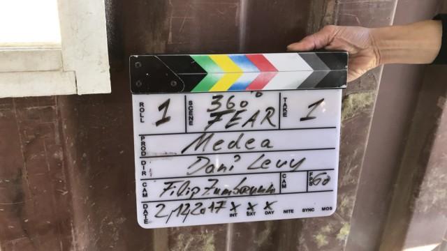 Dreharbeiten von Dani Levy