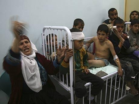 gazastreifen israel hamas opfer krankenhaus ap