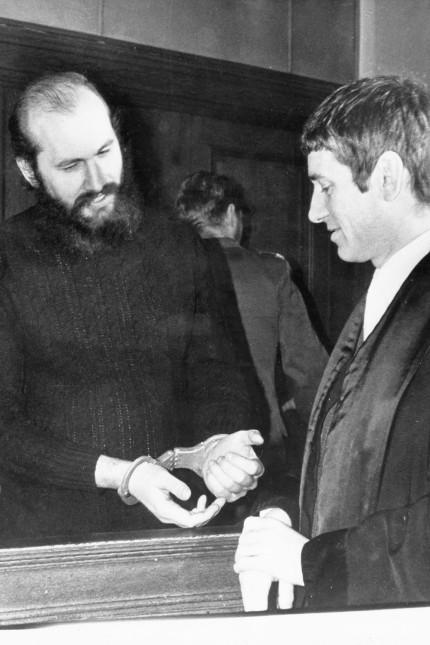 Horst Mahler mit Otto Schily, 1972