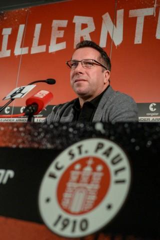 Pressekonferenz FC St. Pauli - Markus Kauczinski