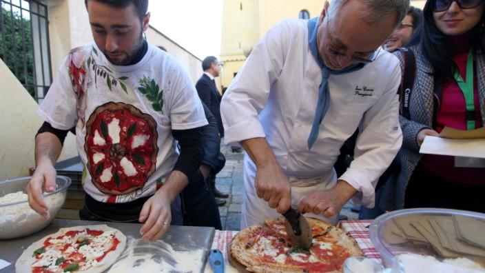 Kunst des Pizzabäckers zu immateriellem Kulturerbe erklärt