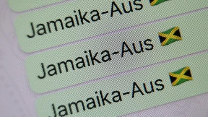 'Jamaika-Aus' Wort des Jahres 2017