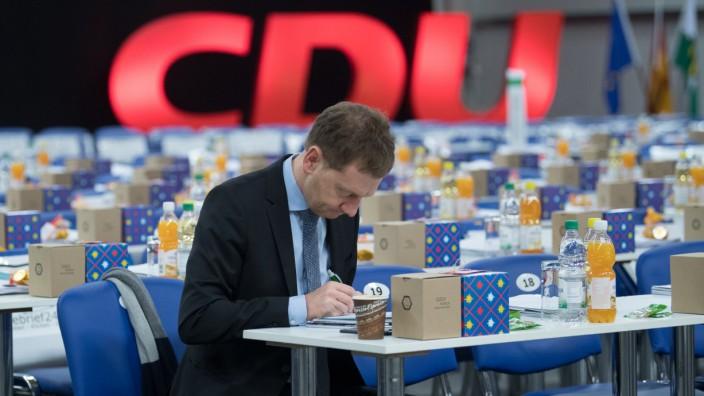 Landesparteitag CDU Sachsen