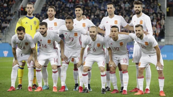 Fußball-WM 2018 in Russland - Spanien
