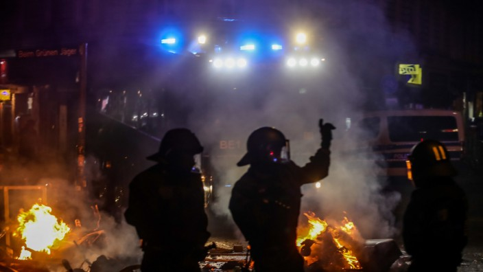 G20- Polizeieinsatz im Schanzenviertel