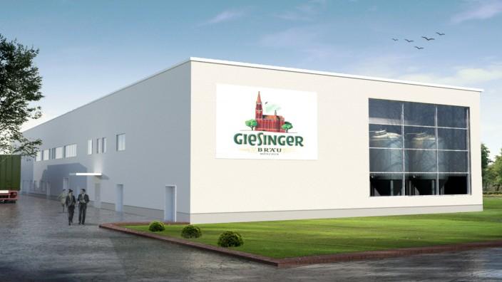 Brauerei: Das neue Gebäude wird auf einem 10 000 Quadratmeter großen Grundstück direkt neben dem BMW-Gelände entstehen.