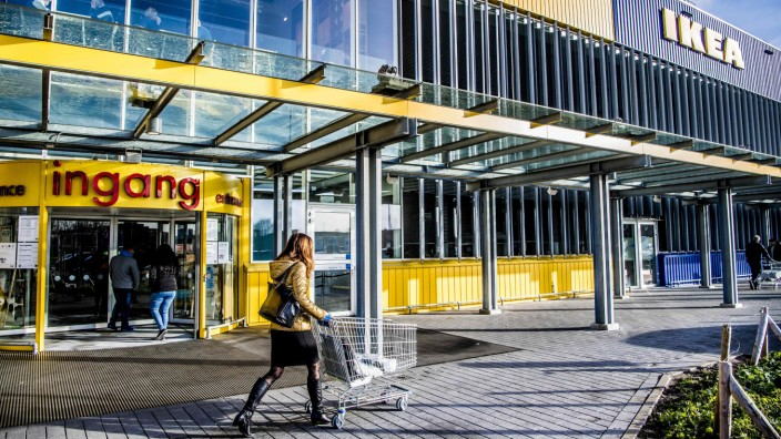 Steuervorteile für Ikea: Ein Ikea-Möbelhaus im niederländischen Delft