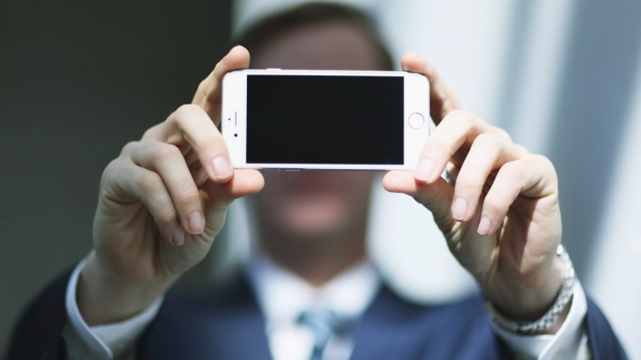 Bewerbung online: Per Selfie zum Job.